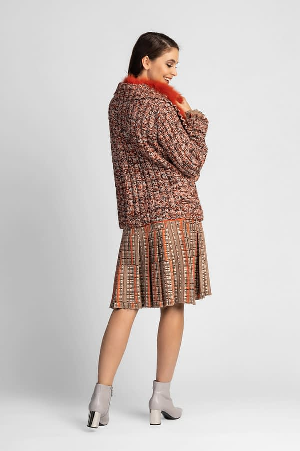 Sweter we wzory TRICOT CHIC